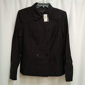 NWT Ann Taylor double-breasted lined jacket